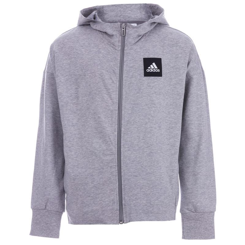 Adidas Performance Junior Girls Sports ID Hoody Grey
