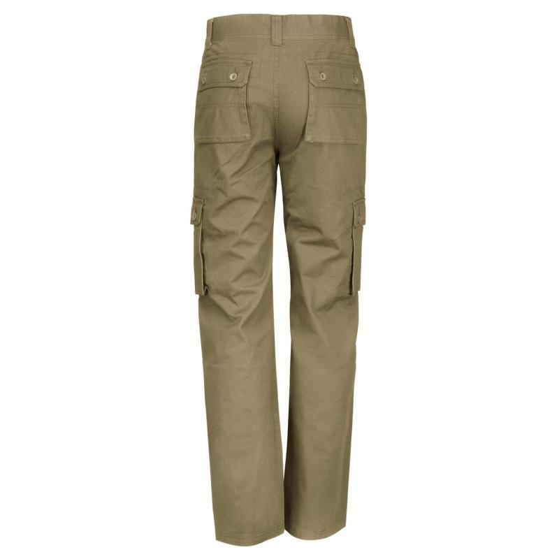 Kalhoty Lee Cooper Cargo Pants Mens Khaki