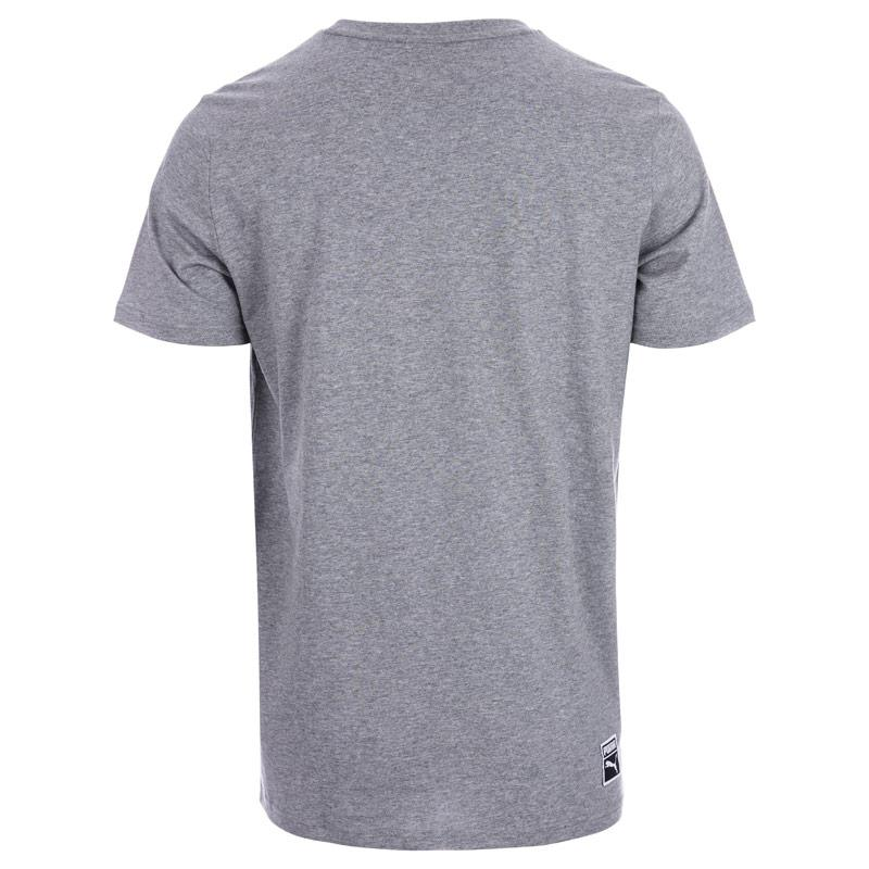 Tričko Puma Mens Archive Embossed Logo T-Shirt Grey
