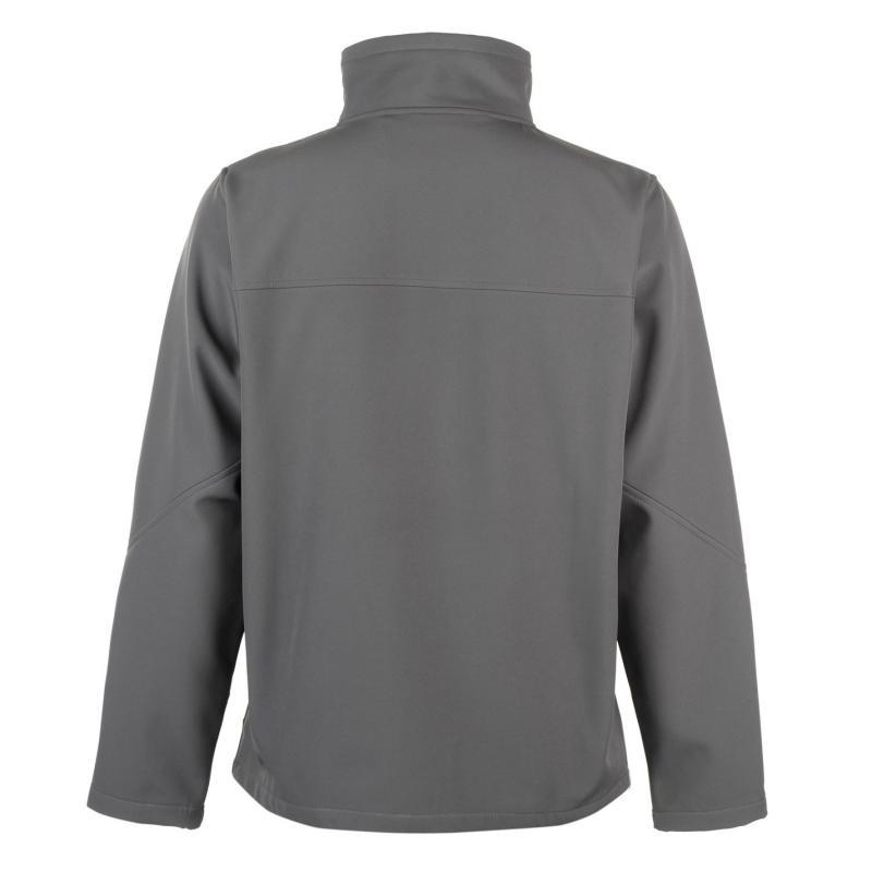 Pierre Cardin Soft Textured Jacket Mens Grey