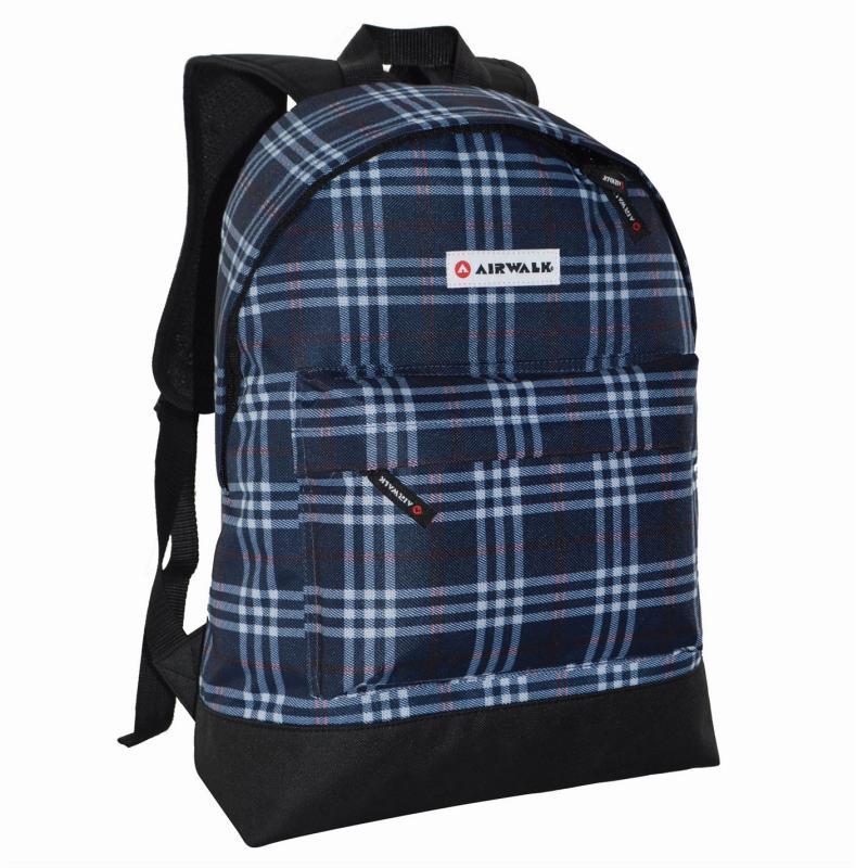 Airwalk All Over Print Backpack Blue/Black
