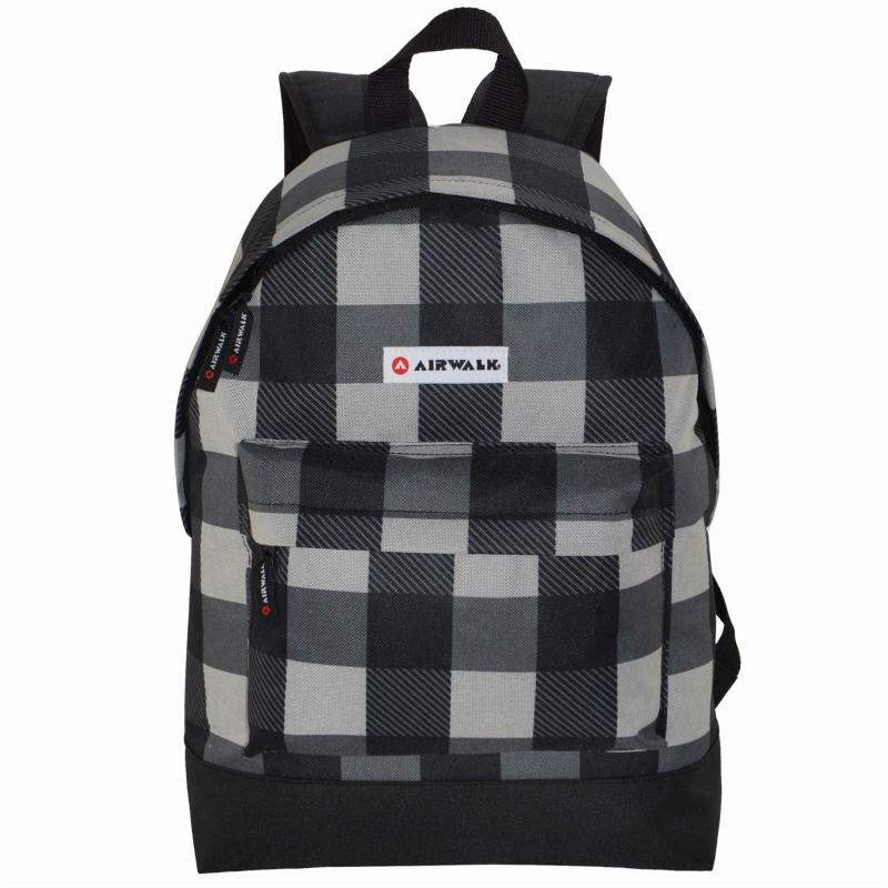 Airwalk All Over Print Backpack Lime/Charcoal