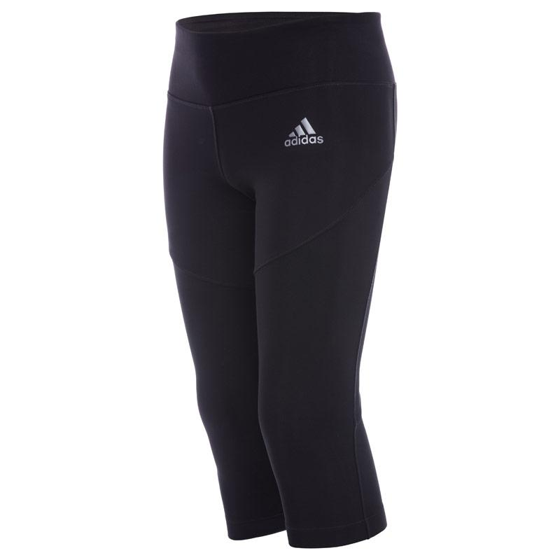 Adidas Performance Junior Girls Techfit 34 Pant Black