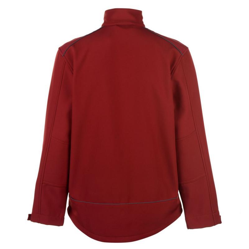 Pierre Cardin Textured Full Zip Jacket Red