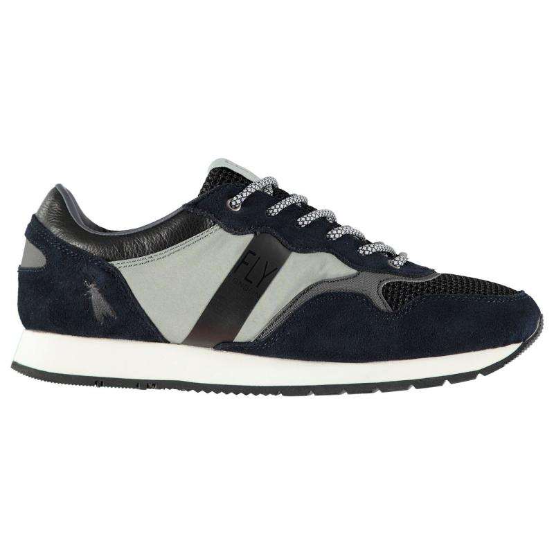 Fly London Pecu Trainers Blue/Grey/Black