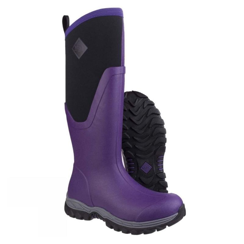 Boty Muck Boot Arctic Sport II Tall Boots Purple