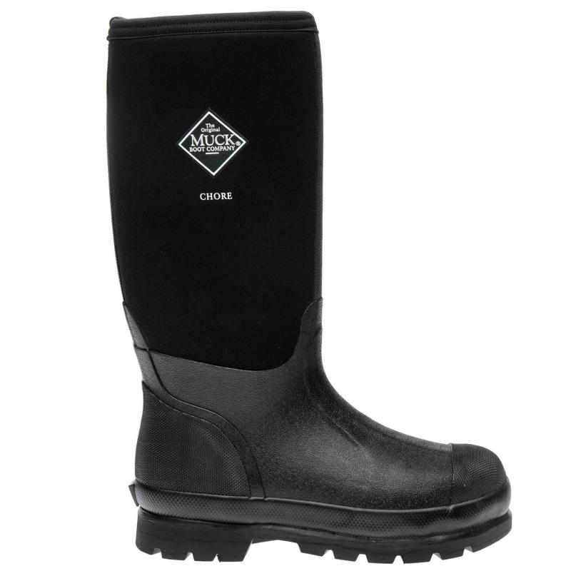 Boty Muck Boot Chore Classic Tall Boot Unisex Black