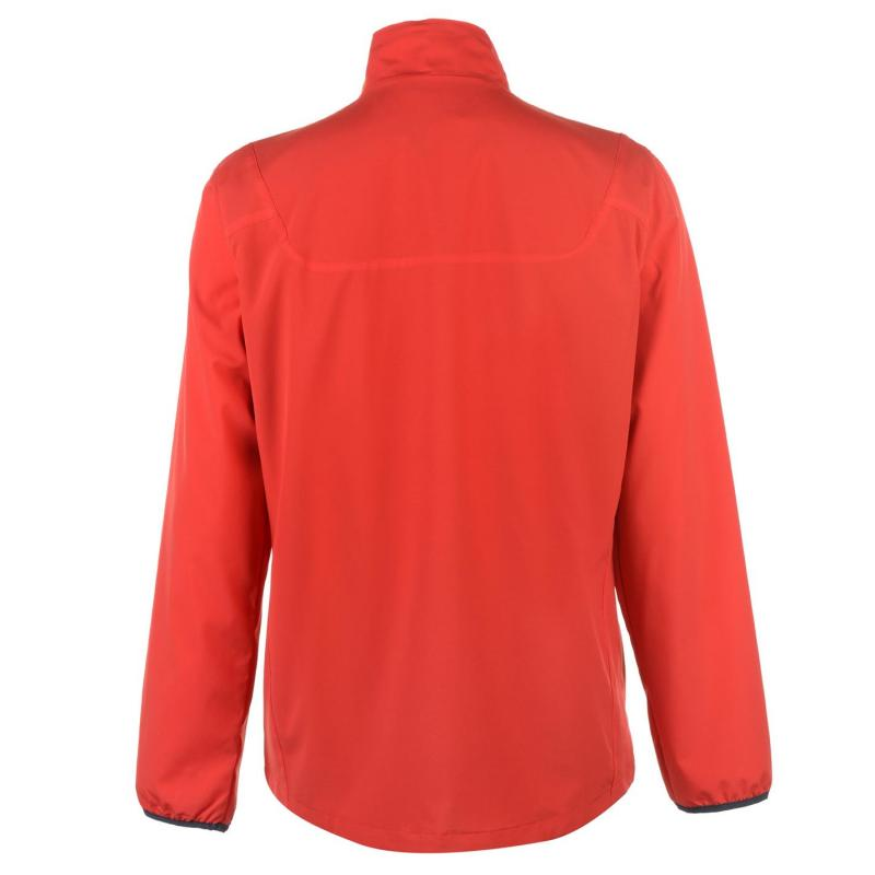 Wilson M Woven Jacket Mens Red