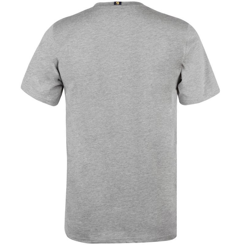Tričko Gio Goi Chest T Shirt Grey Marl