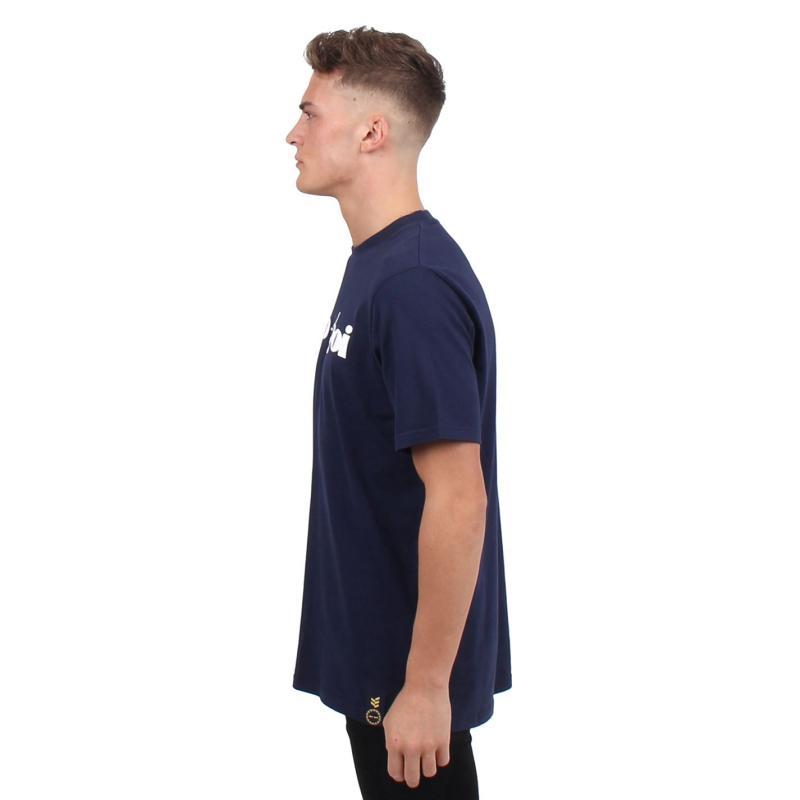 Tričko Gio Goi Chest T Shirt Navy