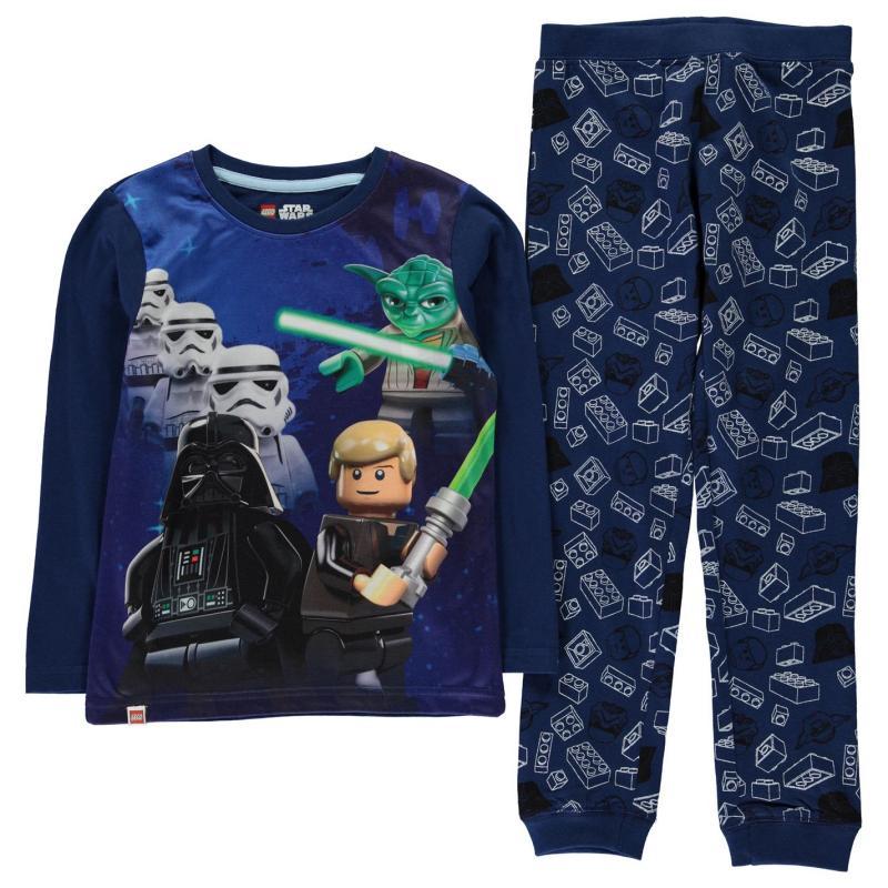 Pyžamo Lego Wear Star Wars Pyjamas Junior Boys Blue Star Wars