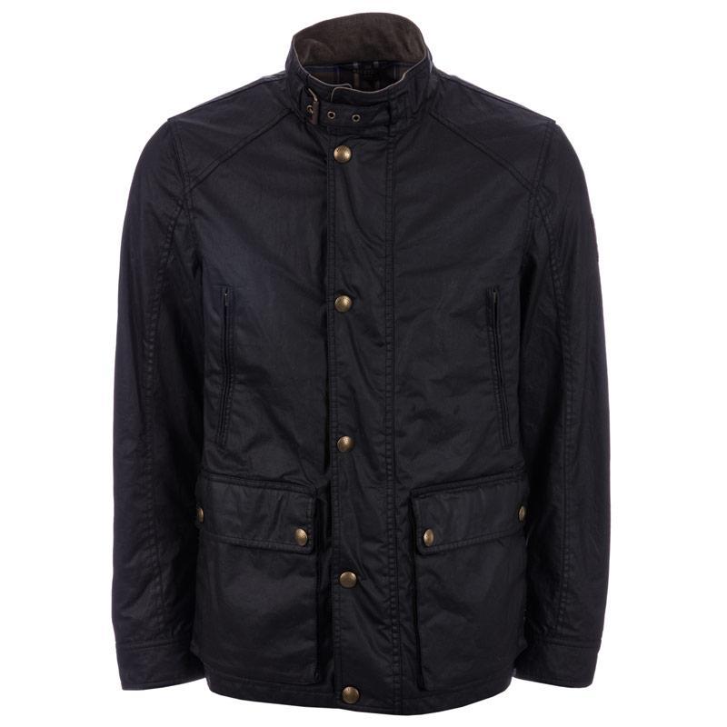 Belstaff Mens New Tourmaster Jacket Black