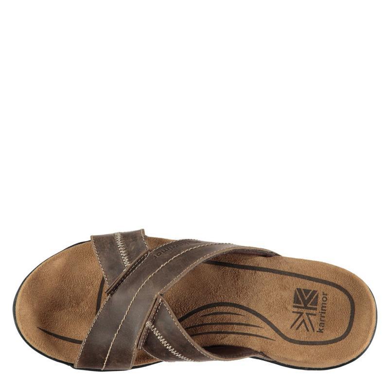 Karrimor Lounge Slide Mens Sandals Brown