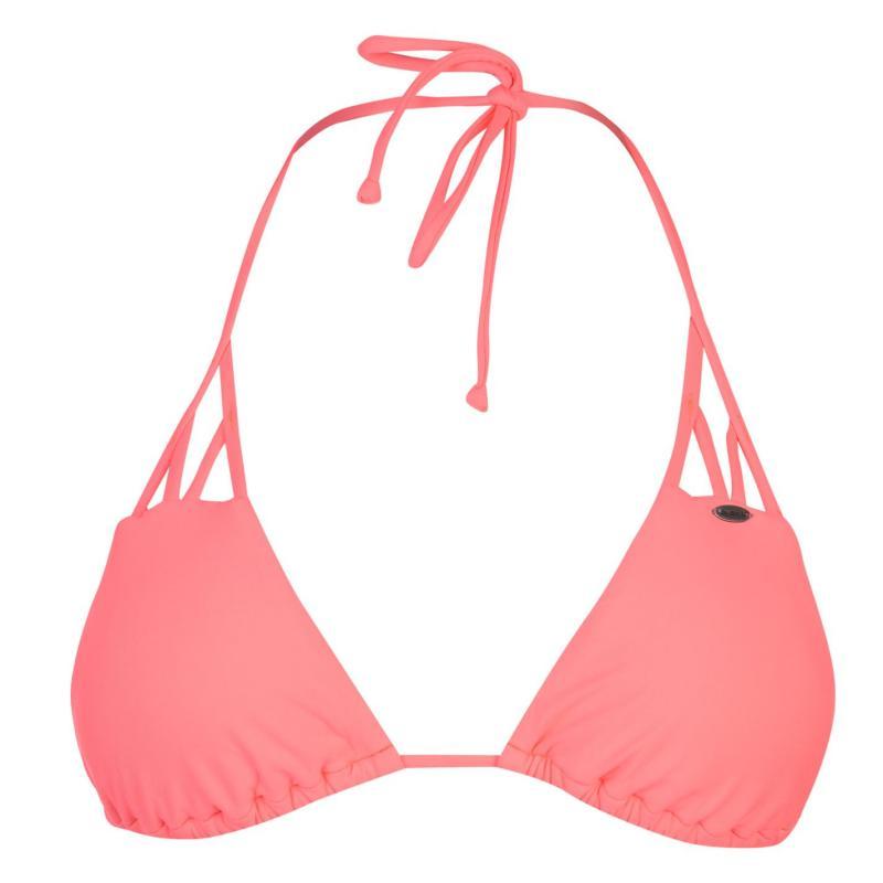 Plavky ONeill Solid Strap Triangle Bikini Top Ladies Capri Breeze