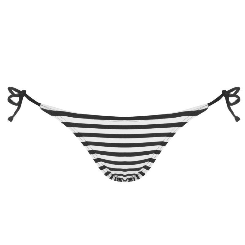 Plavky ONeill Solid Tie Side Bikini Bottoms Ladies White AOP