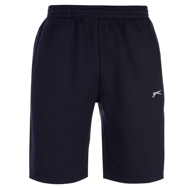 Slazenger Fleece Shorts Mens Navy