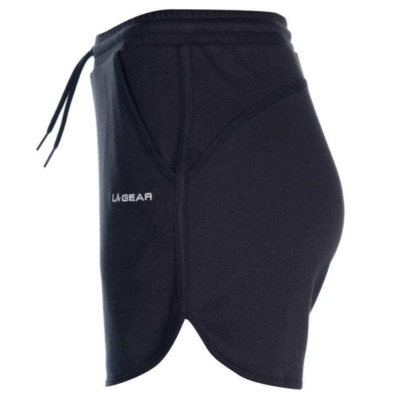 LA Gear Interlock Shorts Ladies Black