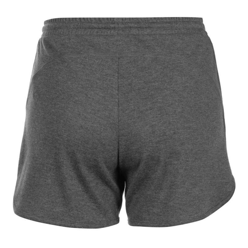 LA Gear Interlock Shorts Ladies Charcoal