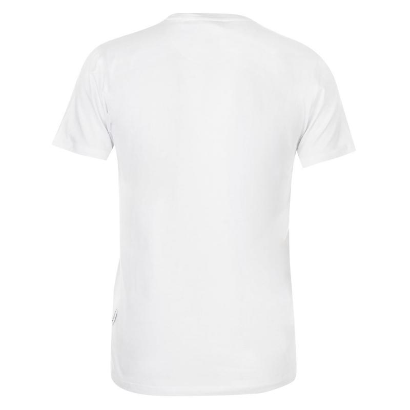 Tričko Pierre Cardin Logo T Shirt Mens Charcoal Marl
