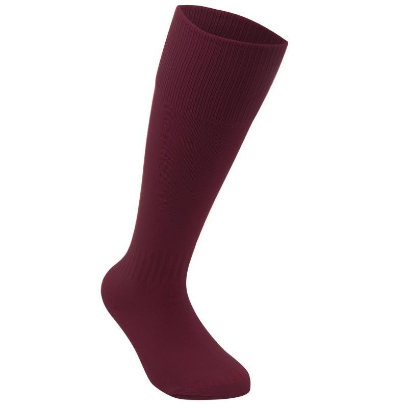 Ponožky Sondico Football Socks Mens Maroon