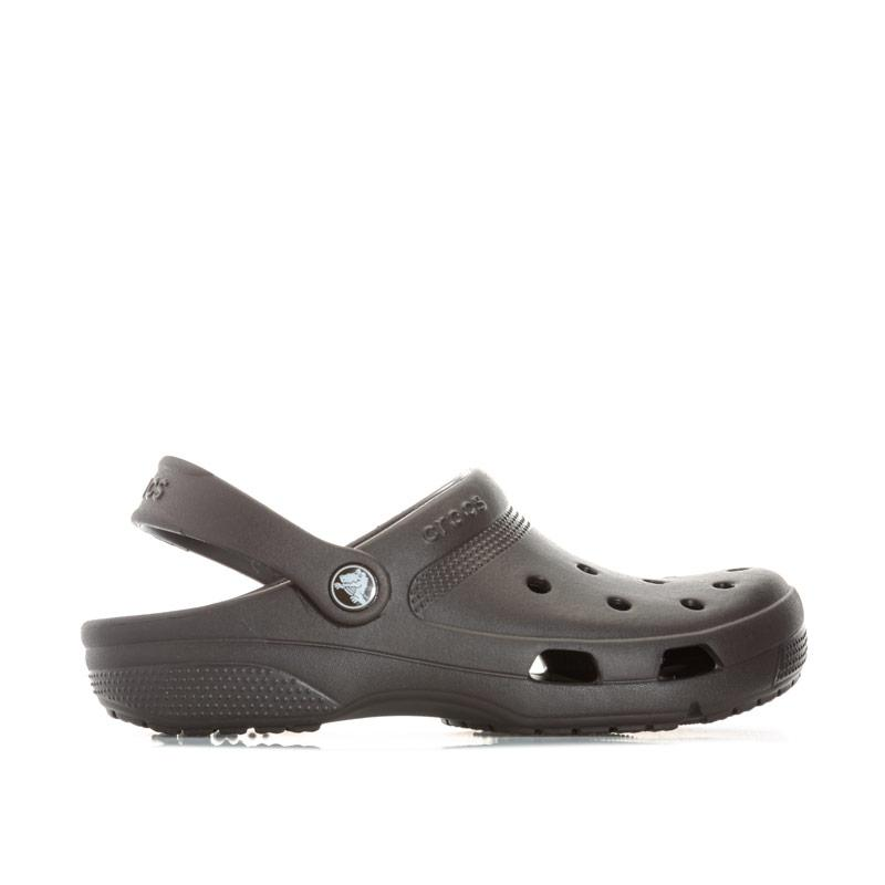 Boty Crocs Womens Coast Clog Sandals Dark Brown