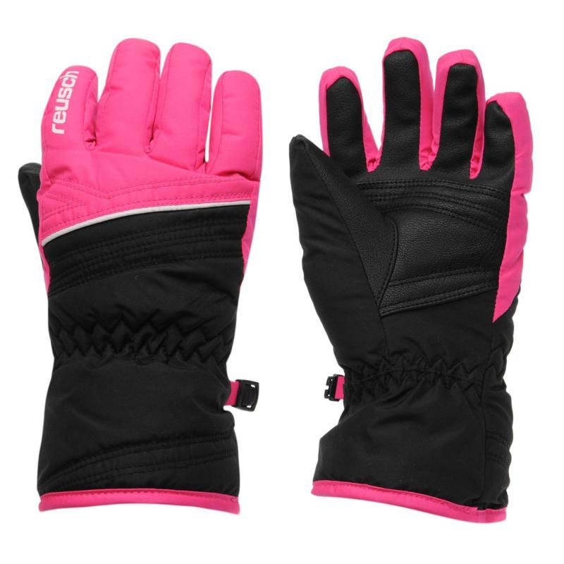 Marker Alan Juniors Ski Gloves Black/Pink