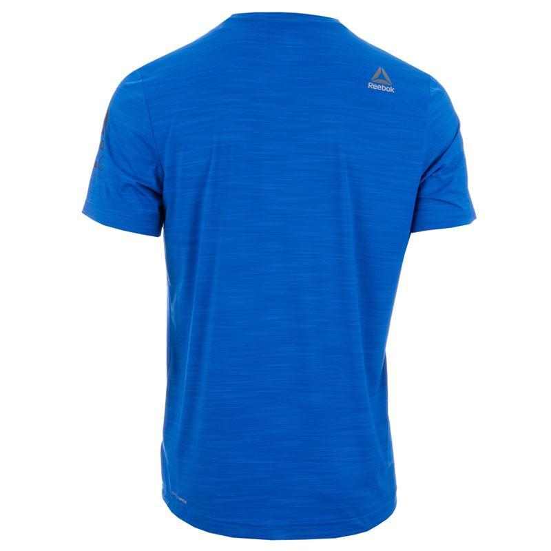 Reebok Mens Running Activchill T-Shirt Blue