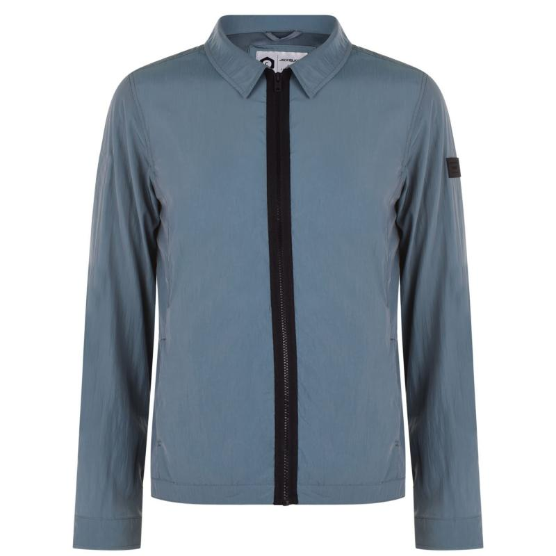 Jack and Jones Core Costan Overshirt Mens Goblin Blue