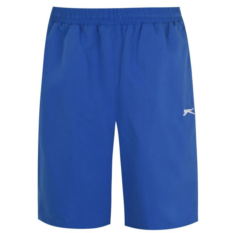 Slazenger Woven Shorts Mens Royal Blue2