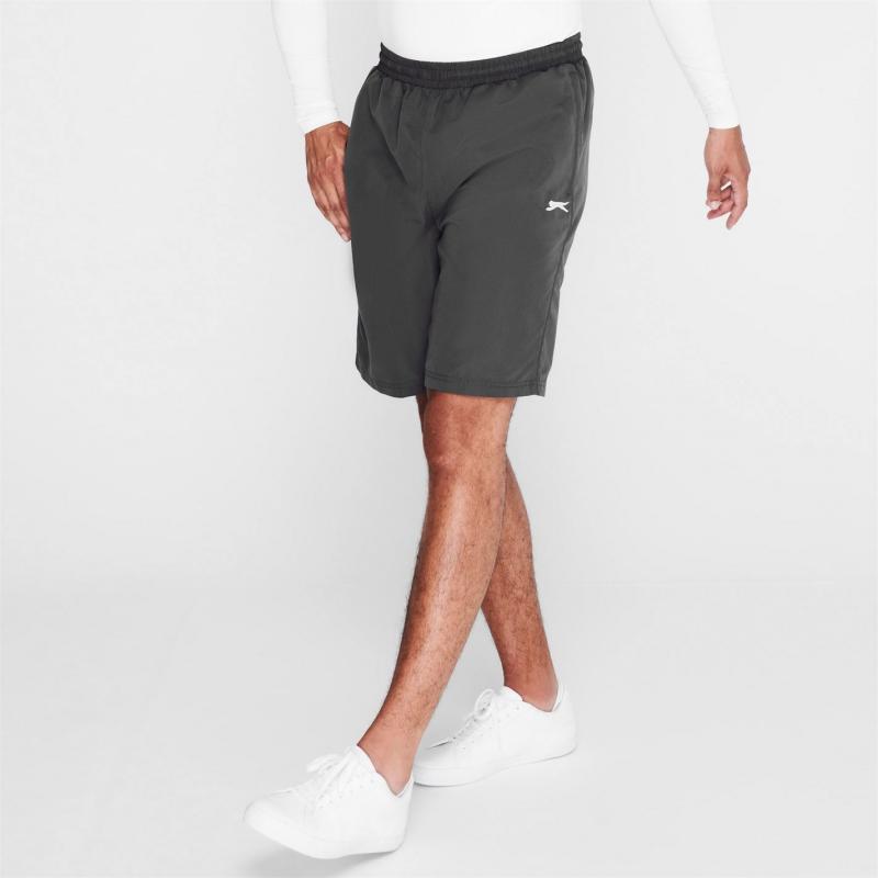 Slazenger Woven Shorts Mens Charcoal