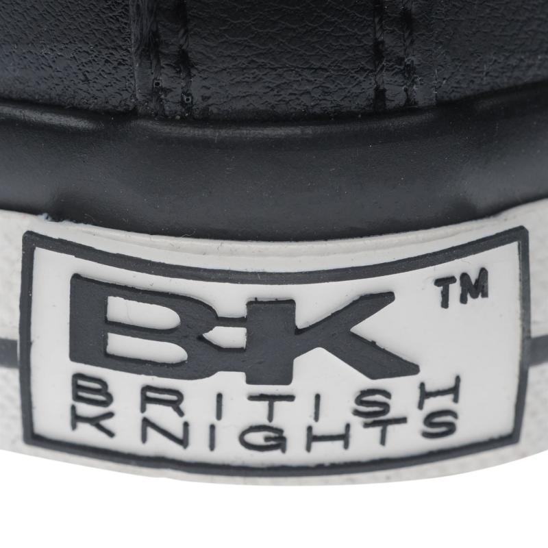 British Knights Roco PU Hi Tops Ladies Blk/Grey/Snake