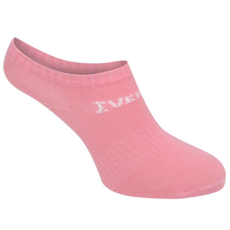 Ponožky Everlast 3 Pack Trainer Socks Childrens White