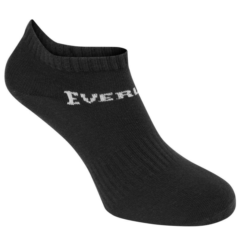 Ponožky Everlast 3 Pack Trainer Socks Mens Black