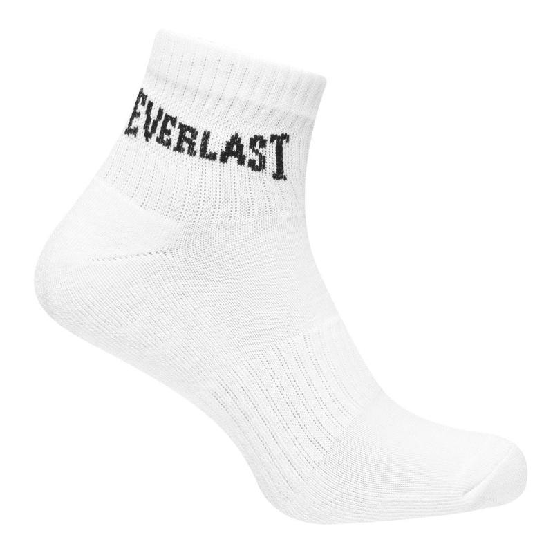 Ponožky Everlast Quarter Sock 3 Pack Mens Blk/Gry/Whi