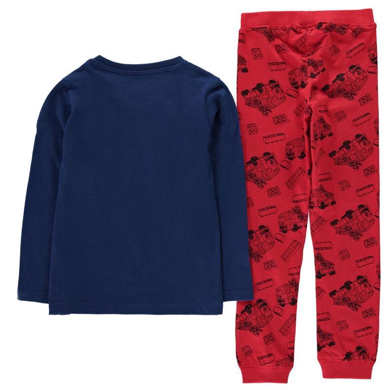 Pyžamo Lego Wear City Pyjamas Set Child Boys Blue Red