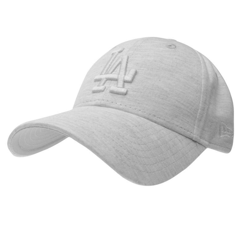New Era 940 Essential Jersey Baseball Cap LA Stone/White