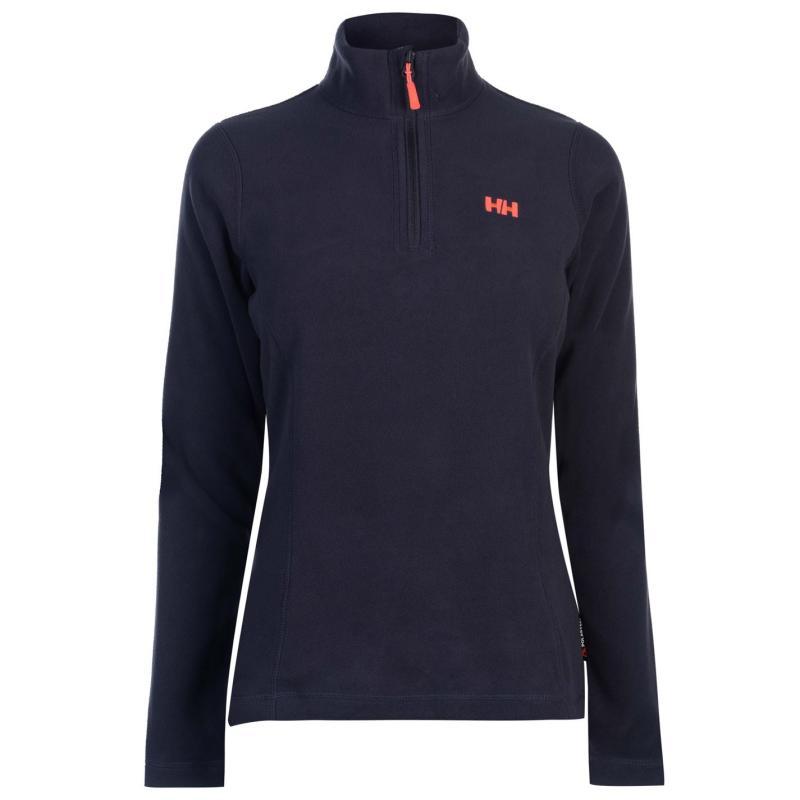 Mikina Helly Hansen Day Break Half Zip Fleece Top Ladies Graphite Blue