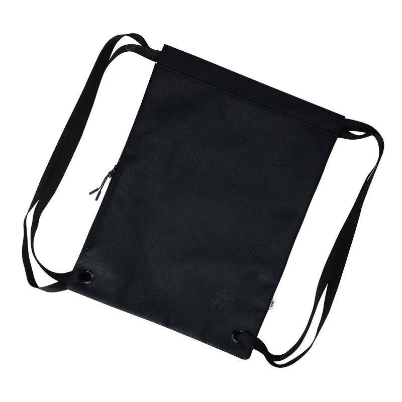 Five PU Gym Sack Black