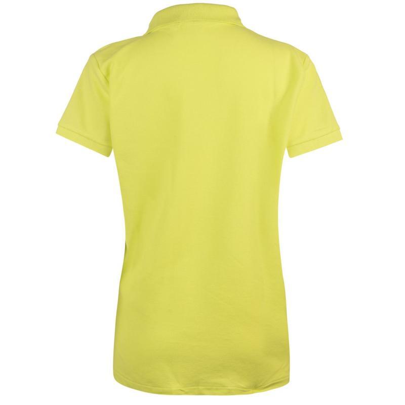 Polokošile Miso Plain Polo Shirt Ladies Lime