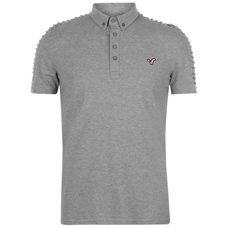 VOI Advanced Polo Shirt Mens Grey Marl