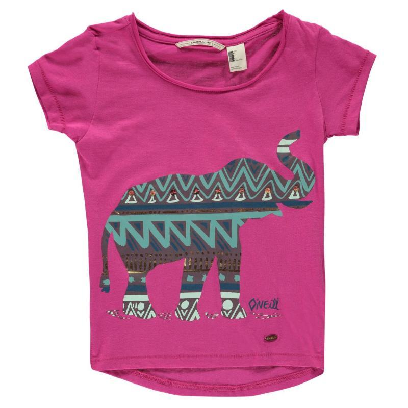 Tričko ONeill Mandala T Shirt Infant Girls Very Berry