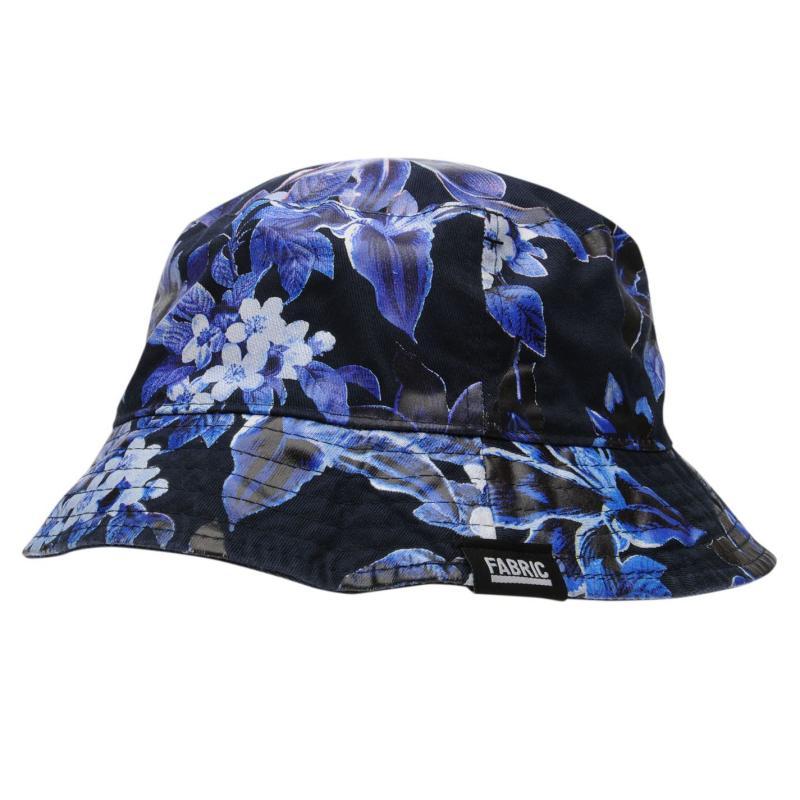 Fabric Reversible Bucket Hat Navy