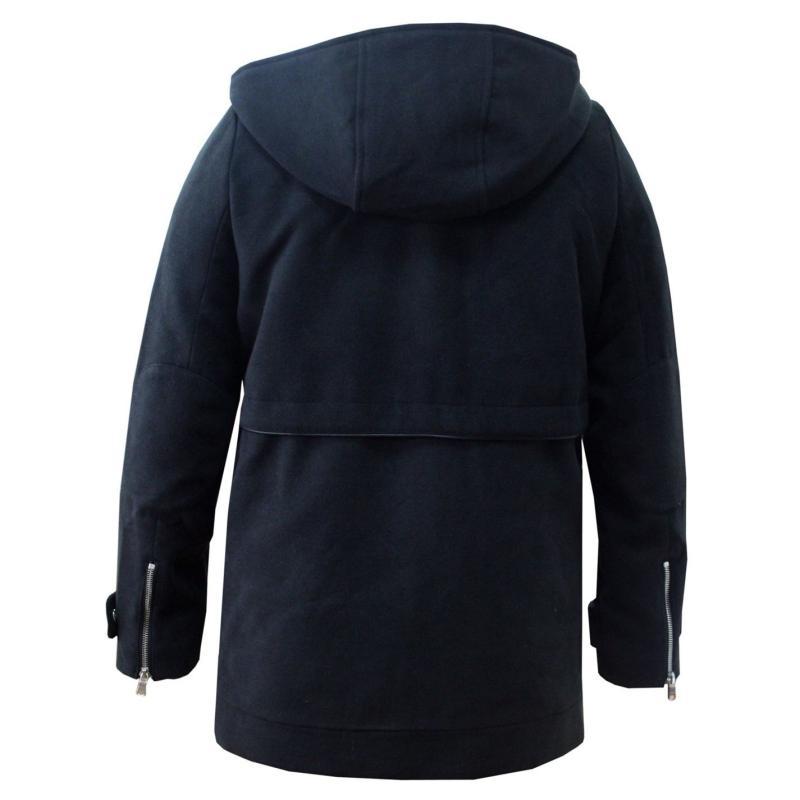 Lee Cooper Duffel Coat Ladies Black