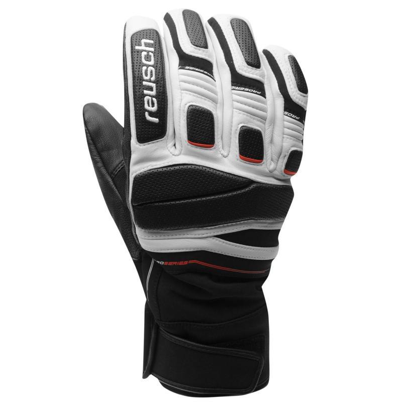 Marker Profile Ski Gloves Mens black white