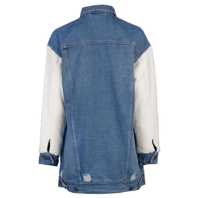 Noisy May Angie Jacket Blue/Cream