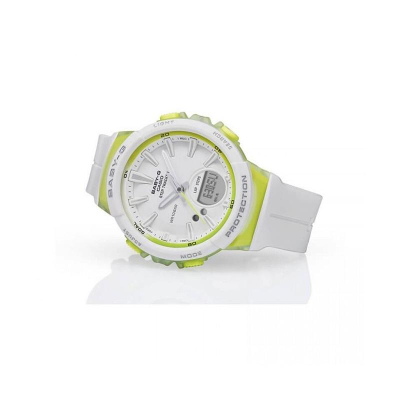Casio Baby G BGS 100 Watch White