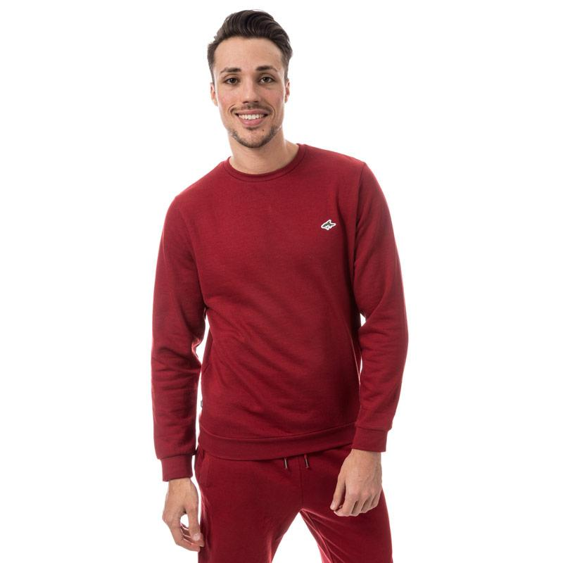 Mikina Le Shark Mens Lockmead Crew Sweat Burgundy