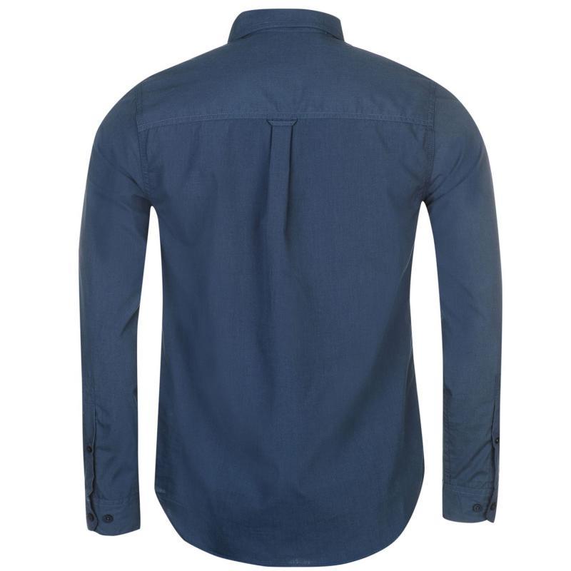Craghoppers Kiwi Long Sleeve Shirt Mens Vintage Indigo