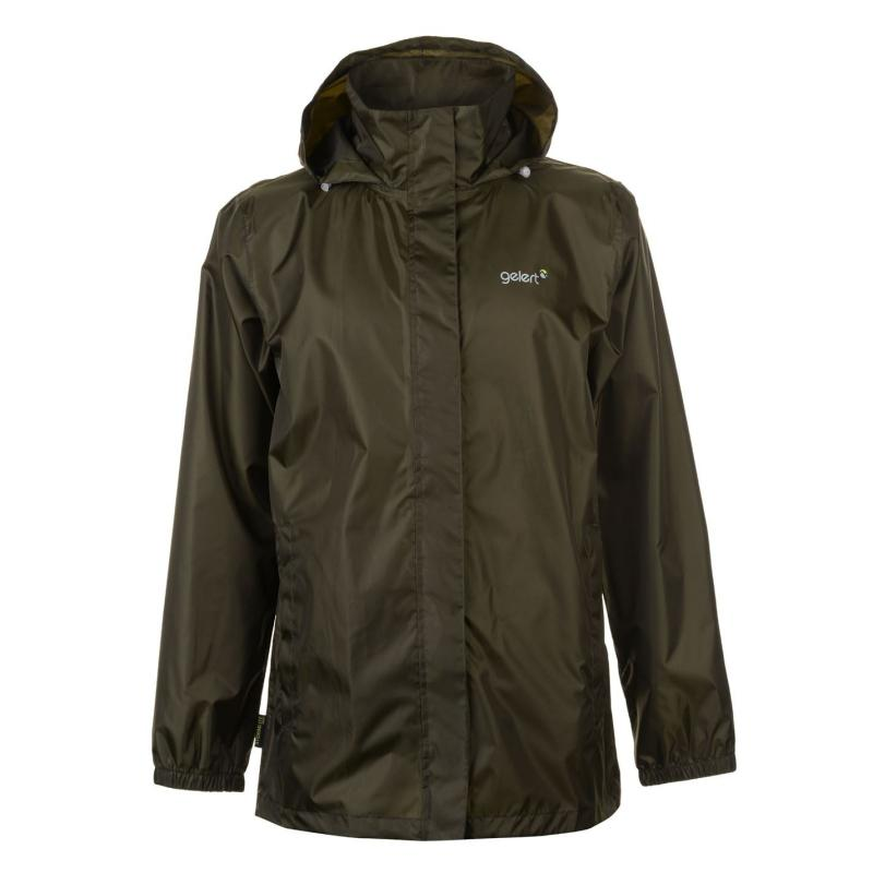 Gelert Packaway Mens Waterproof Jacket Pine