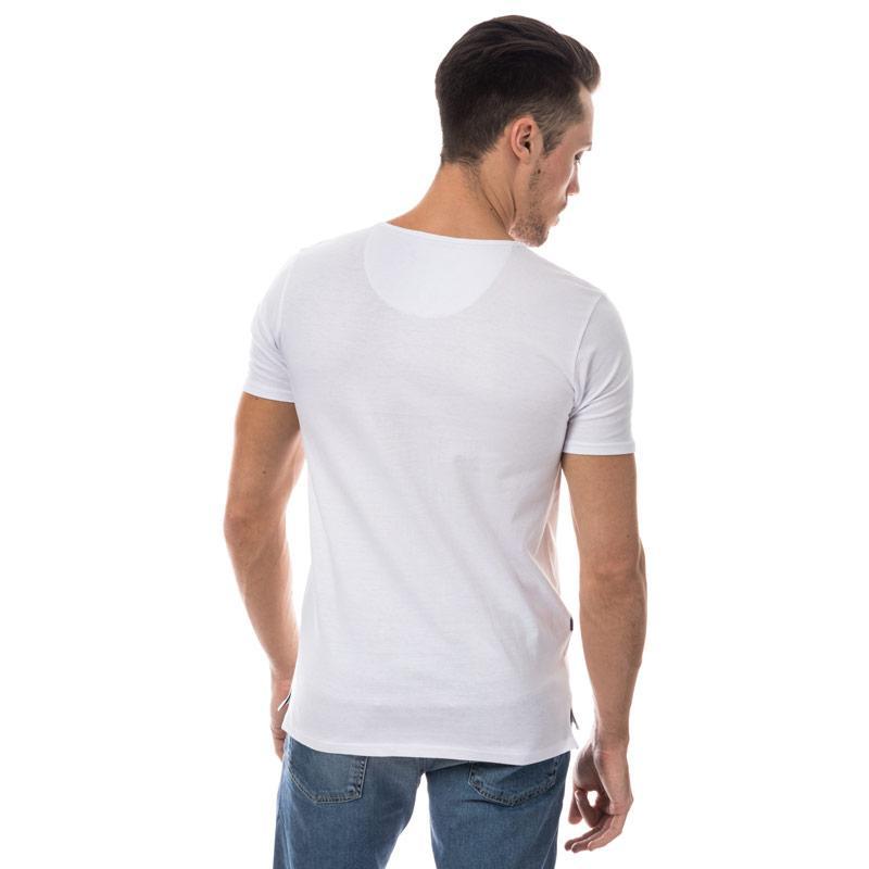 Tričko Le Shark Mens Cook Button T-Shirt White